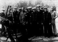 Встреча с моряками Кронштадта