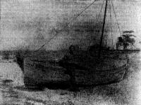 Яцек Эдвард Палкевич и его «Пати» то ту сторону» Атлантики — на пляже Джорджтауна