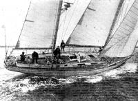 Яхта «АДС Аккатрак» (типа «Свон-65») Клар Фрэнсис