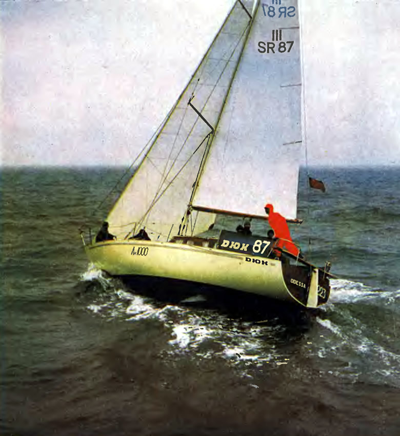 Яхта «Дюк» (типа «Таурус») Одесского яхт-клуба