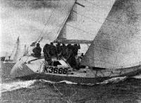 Яхта «Эклипс» победительница Фастнетской гонки среди «адмиральских» яхт