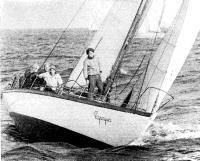 Яхта «Фортуна», экипаж которой во второй раз завоевал Кубок Балтийского моря