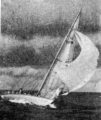 Яхта «Фортуна» (Ленинград, СК «Молния»), завоевавшая Кубок Балтики-78