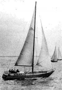 Яхта I группы IOR «Банга» (типа «Арктурус-II») польской постройки