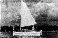 Яхта из 5,5-метровой шлюпки на Свири
