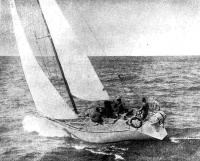 Яхта «Марина» на ходу