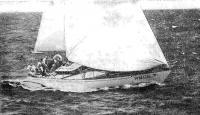 Яхта «Русь» (капитан Э. Я. Стайсон) — победитель в группе I