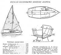 Яхта со скуловыми килями «Нерпа»