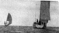 Яхта сопровождения «Солей е вент»