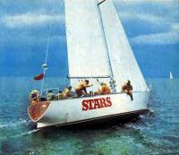 Яхта «Старс» на ходу