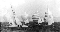 Яхтсмены собираются на старте