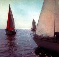 Яхты II и III классов IOR на Онежском озере