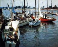 Яхты киевского яхт-клуба
