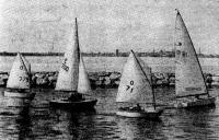 Яхты класса «Оптимист» и «ОК-динги»