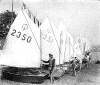 Яхты класса «Оптимист»