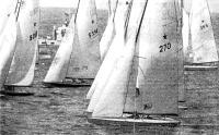 Яхты класса «Звездный» под парусами