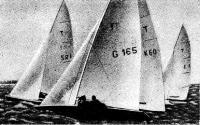 Яхты на олимпийской дистанции