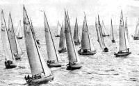 Яхты выходят на старт второго этапа гонки