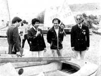 Японские гости знакомятся с материальной частью детской спортивной школы