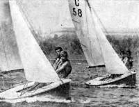 Юные волгоградские яхтсмены на Волге