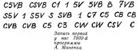 Запись первой у нас 7000-й программы А. Миненка