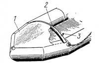 Защитный козырек для надувной лодки