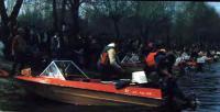 Жители Мозыря встречают участников «звездного» похода
