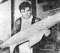 Знаменитый конструктор двенадцатиметровиков Олин Стефенс на борту «Корейджеса»