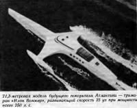 21,3-метровая модель тримарана «Илон Вояжер»