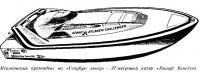 27 метровый катер «Азимут Бенетти»