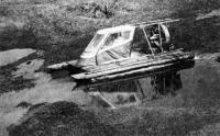 Амфибия «ЛАВП-87» во время показательных испытаний