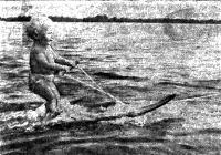 Андрей, внук председатель федерации воднолыжного спорта г. Днепропетровска Ю. Ершова