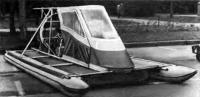 Аппарат-амфибия воздушной подушке «ЛАВП-87»