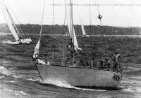 «Ариэль» — победитель сорернований в 1-й стартовой группе яхт