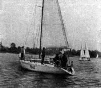 Армоцементная яхта «Лель»