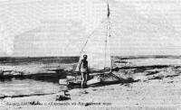 Август 1985 г. Мы с «Авоськой» на Каспийском море