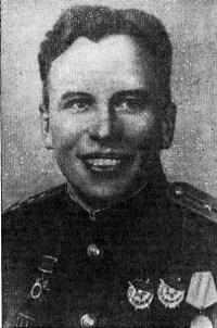 Борис Петрович Ущев. Фото военных лет
