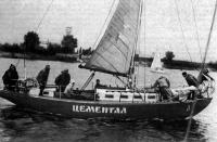 «Цементал» — первая армоцементная яхта, построенная в Киеве