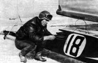 Чемпион СССР в классе «8-метровый» — Г. П. Леонтьев