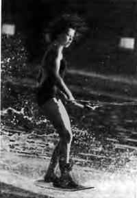 Чемпионка Европы 1985 г. в фигурном катании среди девочек Юлия Громыко