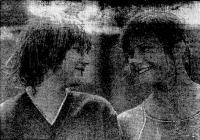 Чемпионки юношеского первенства СССР 1984 г. минчанка О. Павлова и С. Кобялко