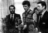 Чемпионы мира (слева направо): Тийн Хаагма, Вайко Воорема, Матти Куулманн