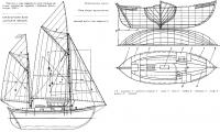 Чертежи и план парусности яхты