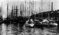 Четыре советские яхты в Бремерхафене