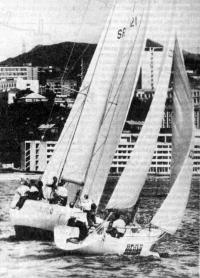 Члены советской сборной приняли участие в гонках крейсерских яхт во Владивостоке