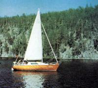 Цветное фото яхты «Родшер»