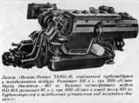 Дизель «Вольво-Пента» TAMD-40
