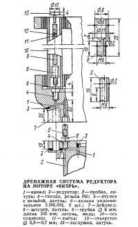 Дренажная система редуктора на моторе «Вихрь»