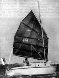 Другой ракурс на семиметровую крейсерскую яхточку