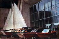 Экспозиция катеров на выставке